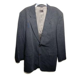 Boss Hugo Boss Gray Blazer Size 44L Long